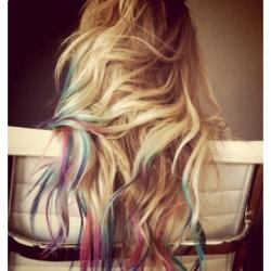 Rainbow tips?