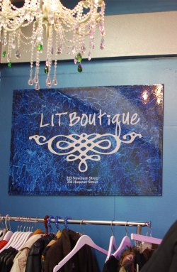 Lit Boutique: Blogger Shopping Party